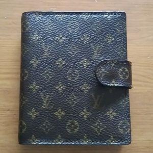 Authentic Louis Vuitton monogram Mini Agenda